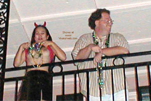 Pic #1 Halloween on Bourbon Street with Newman