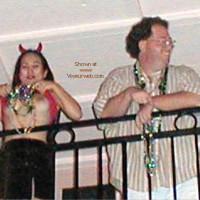 Halloween on Bourbon Street with Newman
