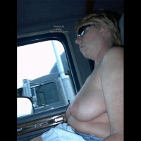 Rhonda Flashing Truckers