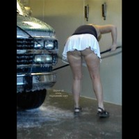 Rhonda At The Car Wash
