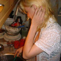 doing the dishes 2