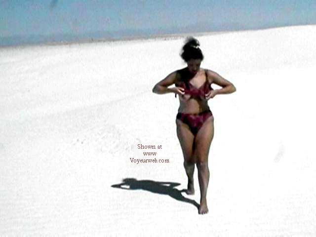 Pic #1 Stripping in White Sands