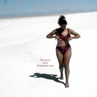 Stripping in White Sands
