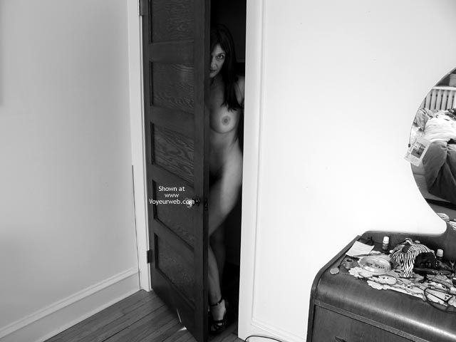 Black And White - Black And White , Black And White, Peeking Out, Coming Out Of The Closet