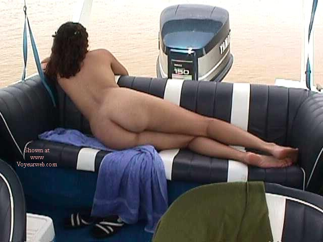 Pic #1 Butt on Boat