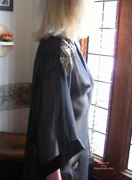 Pic #1 Sheer New Robe