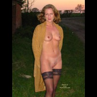 Saucyminx Naked Outside 1