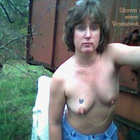 Farm Wife Outdoors (BLUR EYES)