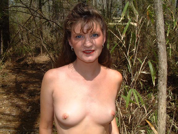 Pic #1 Daisy Gets Naked In The Woods