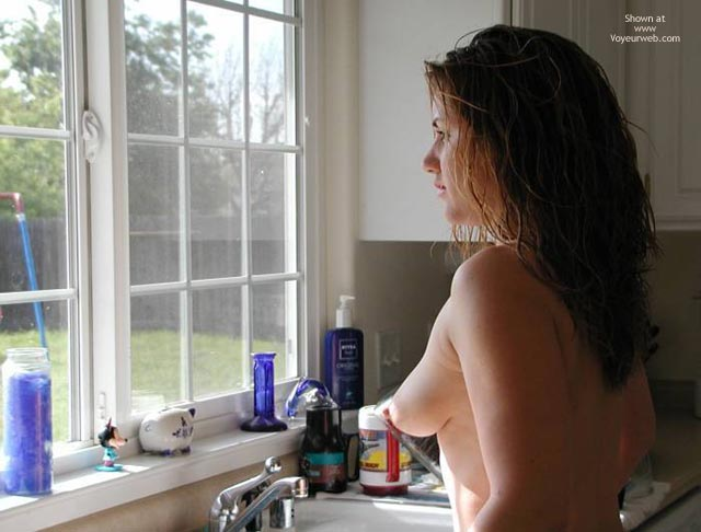 Perky Tits - Perky Tits, Topless , Perky Tits, Kitchen Sink, Looking Out Window, Topless Kitchen, Long Tits, Topless