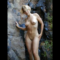 Nude Rock Nymph - Naked Girl , Nude Rock Nymph, Naked, Rock Naked