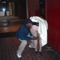 Rhonda Flashing In St Louis 2