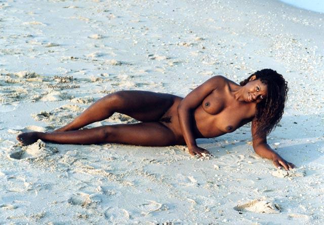 Black Beauty - Beach Voyeur , Black Beauty, Beach, Black Woman
