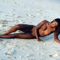 Black Beauty - Beach Voyeur , Black Beauty, Beach, Black Woman
