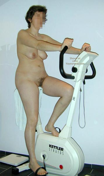 Pic #1 Maria On The Hometrainer