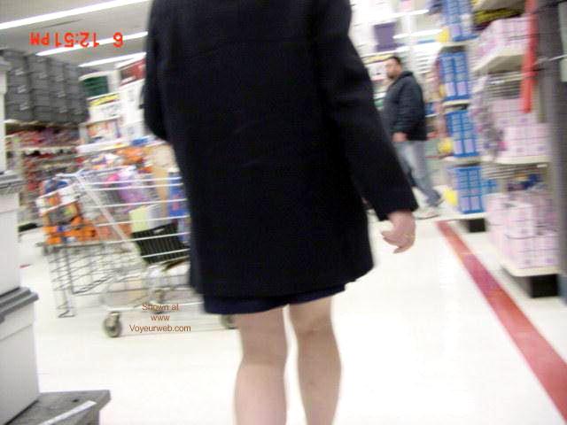 Pic #1 Amron's Flashing at Walmart!