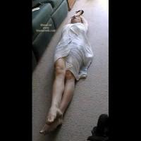 Wrapped Girl On The Floor , Wrapped Girl On The Floor, Stretch
