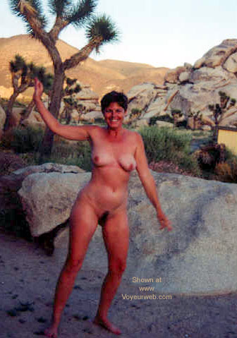 Pic #1 Vickie in the Desert