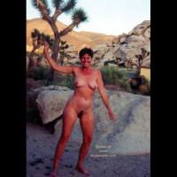 Vickie in the Desert