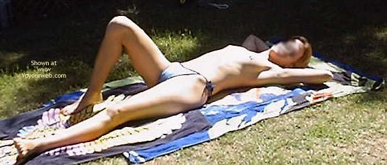 Pic #1 Tanning Outside