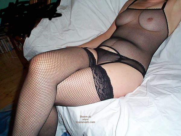 Pic #1 Karen In Fishnets