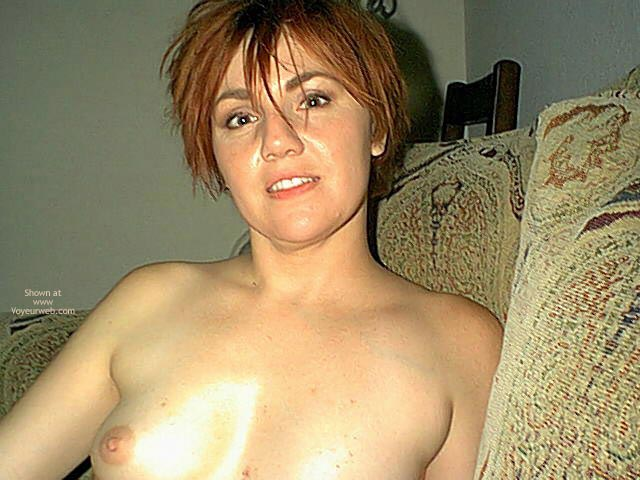Pic #1 Small Tits On Redhead