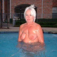 Tammy In Hot Tub 2