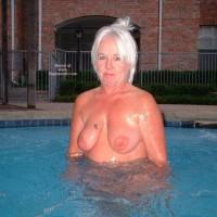 Tammy In Hot Tub 2