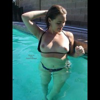 Hot Summer In The Pool