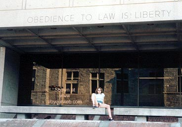 Pic #1 Cynthia at The Courthouse