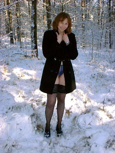 Pic #1 Veronique In The Snow