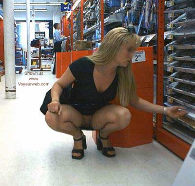 Pic #1 Blonde Kelly in the Office Supply Store