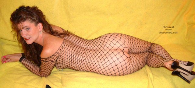 Pic #1 Daisydiaz'S Fishnet Fun!
