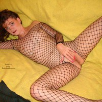 Daisy Diaz'S Real Fishnet Fun!