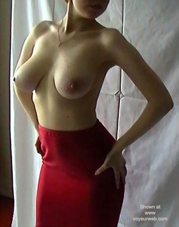 Pic #1 Russian Wife * Red Skirt
