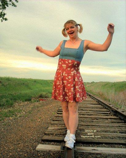 Pic #1 Romance Rides The Rails 1