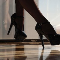 Black Stockings - Heels, Stockings , Black Stockings, High Heels, Artsy High Heel Shot