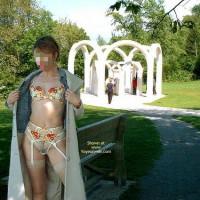 Julie Hsavoie At The Fountain 2