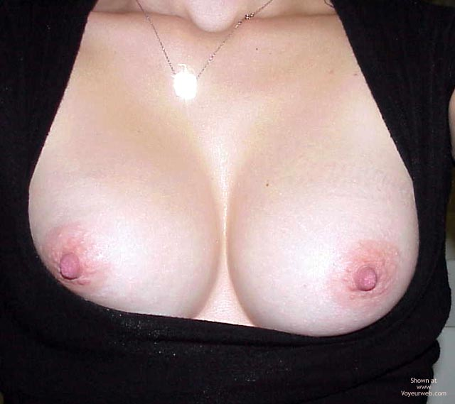 Black Top - Big Tits, Showing Tits, Top , Black Top, Tits Out, Big Tits, Exposed Tits