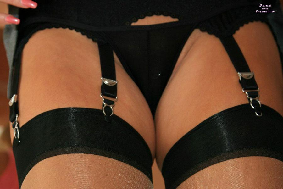 Black pussy in thongs