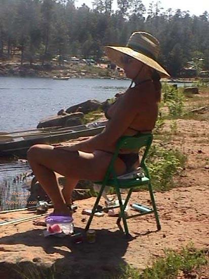 Pic #1 Slut Gone Fishing