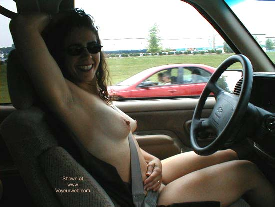 Pic #1 *DN Nookie Driving Naked