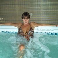 Tina In The Hott Tub