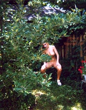 Pic #1 Naked Girl in My Backyard