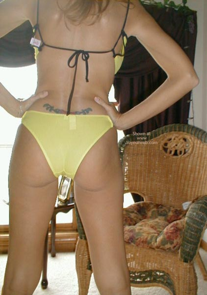 Pic #1 Dutch Marie String/Thong Showing