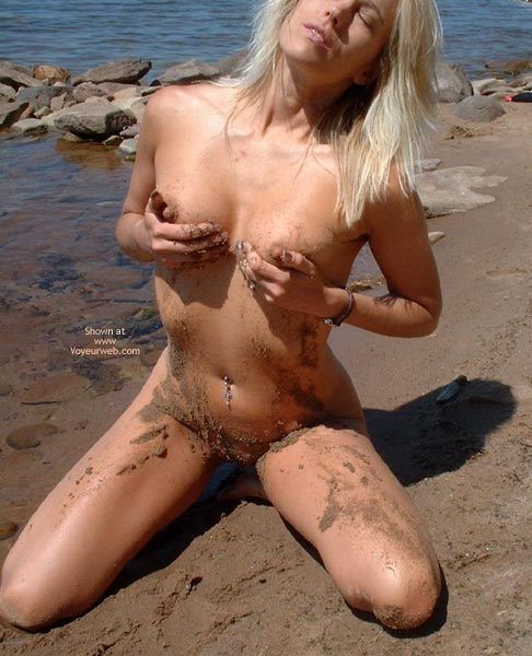 Long Blonde Hair - Blonde Hair, Long Hair, Navel Piercing, Nude Outdoors , Long Blonde Hair, Sandy Vagina, Beach Girl, Belly Piercing, Cupping Tits, Kneeling In Sand, Nudist Girl, Blond, Outdoors