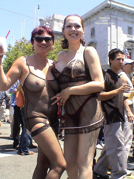 Pic #1 Nikol At San Francisco Gay Pride 2003 2