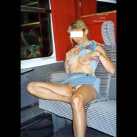 Magalie in The Train