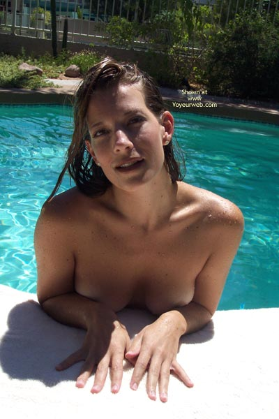 Floating Tits And Ass - Brunette Hair , Floating Tits And Ass, Wet Brunette