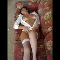 Ly'S White Stockings